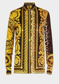 Wild Baroque SS\'92 Print Shirt by Versace at Versace