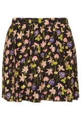 Wild Flower Flippy Skirt at Topshop