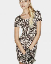 Wild Fur Print Dress at The Kooples