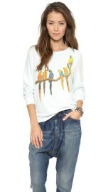 Wildfox Birds in Paradise Baggy Beach Jumper at Shopbop