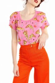 Wildfox Extra Cheese Pizza Tee at Shoptiques