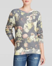 Wildfox Floral Pullover at Bloomingdales