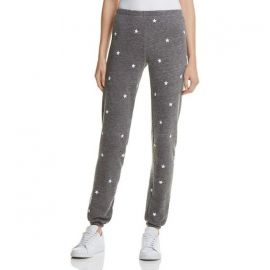 Wildfox Football Star Knox Sweatpants charcoal at Nordstrom