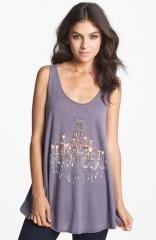 Wildfox Indiana Chandelier Print Tank at Nordstrom