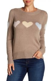 Wildfox Lou Full Hearts Sweater at Nordstrom Rack