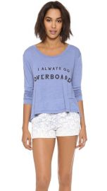 Wildfox Off the Deep End Long Sleeve Top at Shopbop