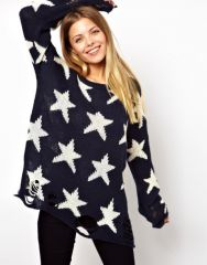 Wildfox Seeing Stars Sweater at Asos