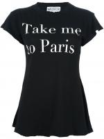 Wildfox Take Me To Paris tshirt at Farfetch