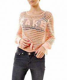 Wildfox Women s Wynona Cake Crochet Sweater at Amazon