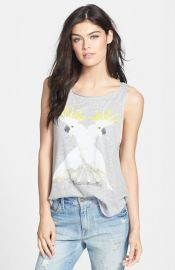 Wildfox and39Cockatoos Cassidyand39 Graphic Tank at Nordstrom