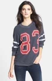 Wildfox and39Sporty School Girland39 Raglan Sweatshirt at Nordstrom