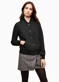 Wilfred Poussin Bomber at Aritzia