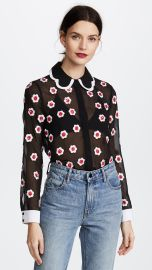 Willa Embroidered Top alice olivia at Shopbop