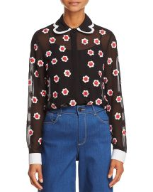 Willa Embellished Top by Alice + Olivia at Bloomingdales
