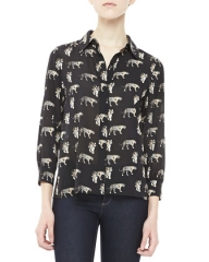 Willa Shirt by Alice and Olivia at Neiman Marcus