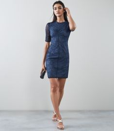 Willo Lace Bodycon Dress by Reiss at Reiss
