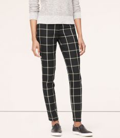 Windowpane Pants at Loft