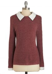 Wine Appreciation Sweater at ModCloth
