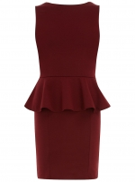 Wine colored dress like Hannas at Dorothy Perkins