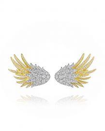 Wing Diamond Earrings at Forevermark