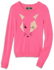 Winking Fox Sweater at C Wonder