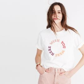 Wish You Were Here Print Tee by Madwell at Madewell