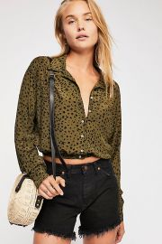 Wishing Well Printed Top at Free People