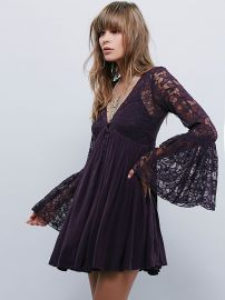 With Love Dress in Huckleberry at Free People