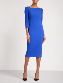 Witham crepe midi dress at Selfridges