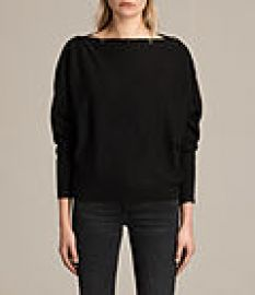 Womens Elle Sweater  Black at All Saints
