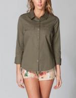 Womens Military Shirt by Full Tilt at Tillys at Tillys