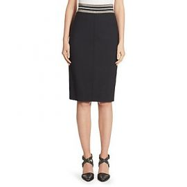 Wool Pencil Skirt by Brunello Cucinelli at Saks Fifth Avenue