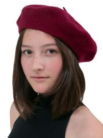 Wool Beret at American Apparel
