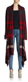 Wool Blanket Cardigan at Lord & Taylor