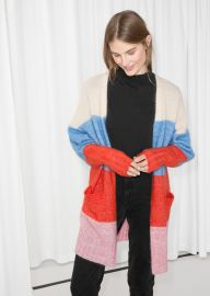 Wool Blend Oversized Cardigan  at & Other Stories