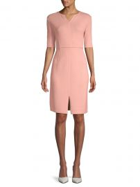 Wool-Blend Sheath Dress at Saks Off Fifth