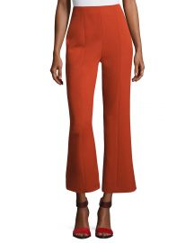 Wool High-Waist Cropped Straight-Leg Pants by Narciso Rodriguez at Bergdorfgoodman