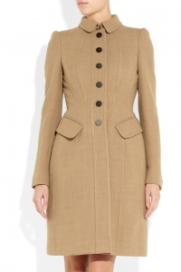 Wool blend coat by Burberry at Net A Porter