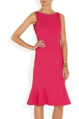 Wool blend flared dress by Michael Kors at Net A Porter