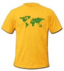 World Map Tshirt at Spread Shirt