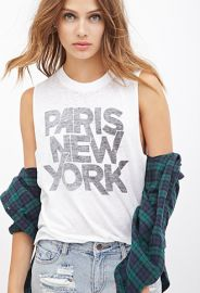 World Traveler Muscle Tee  Forever 21 - 2000083830 at Forever 21