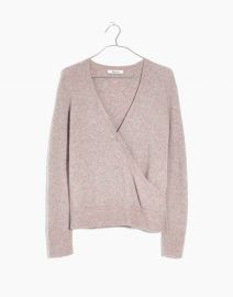 Wrap-Front Pullover Sweater by Madewell at Madewell
