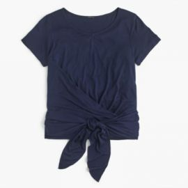 Wrap T-shirt at J. Crew