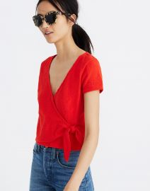 Wrap Tie Top at Madewell