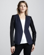 Yaisa blazer by Theory at Neiman Marcus