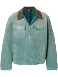 Yeezy Season 6 Denim Jacket at Farfetch