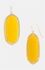 Yellow Elle Earrings by Kendra Scott at Nordstrom