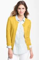 Yellow cardigan at Nordstrom at Nordstrom