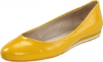 Yellow flats by Nine West at Amazon