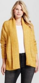 Yellow plus size cardigan by Target at Target